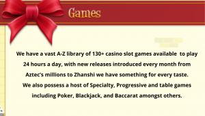 Manhattan Slots Casino Games